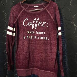 """""""Coffee"""" sweater"""